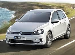 Volkswagen e-Golf Vehicle