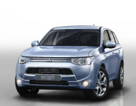 Mitsubishi Outlander PHEV (Not Yet Available in U.S.) Vehicle