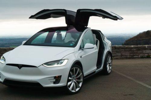 Tesla Model X Vehicle