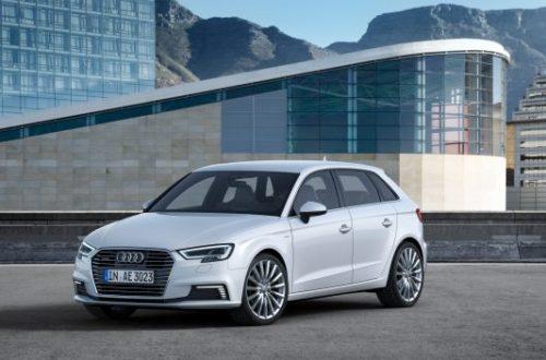 Audi A3 Sportback e-tron Vehicle
