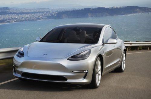 Tesla Model 3 Vehicle